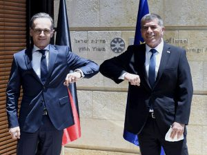 Read more about the article MAAS WILL EU-ISRAEL-BEZIEHUNGEN VERBESSERN