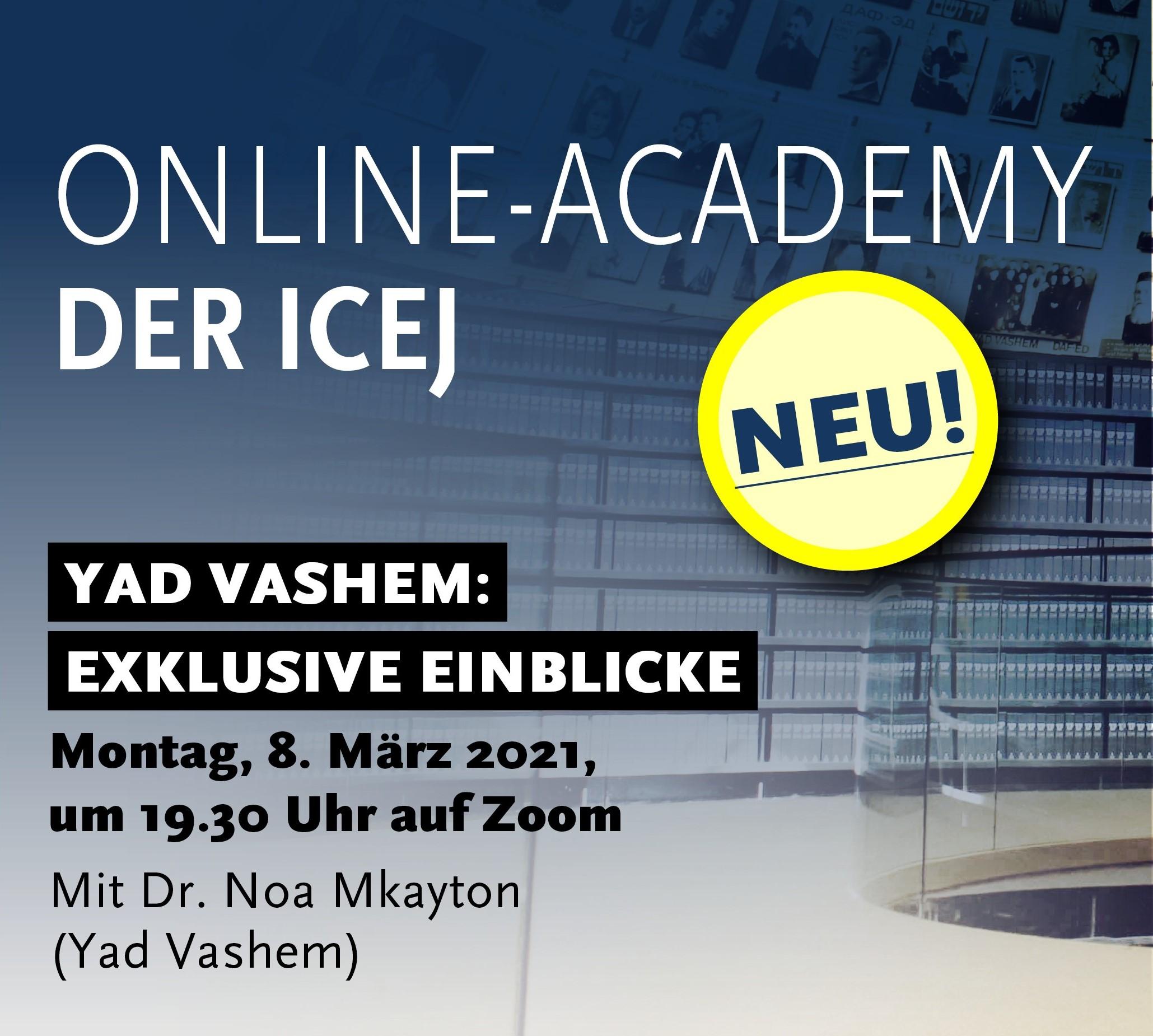 YAD VASHEM: EXKLUSIVE EINBLICKE